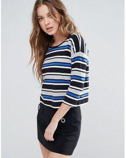 Suo Stripe Top