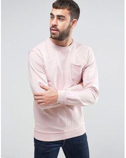 Pink Pocket Sweater