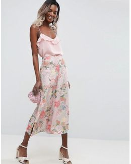 Mix & Match Floral Bloom Occasion Culottes