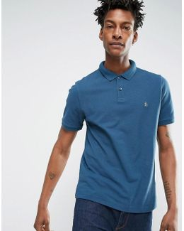Winston Slim Fit Pique Polo Shirt