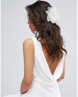 Wedding Flower Hair Clip