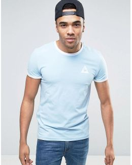 Ringer T-shirt In Blue Exclusive To Asos 1611260