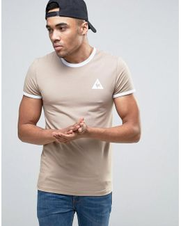 Ringer T-shirt In Beige Exclusive To Asos 1622163