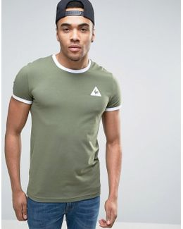Ringer T-shirt In Green Exclusive To Asos 1622158