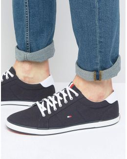 Harlow Lace Up Plimsolls
