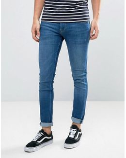 Finsbury Slim Fit Jeans In Mid Wash