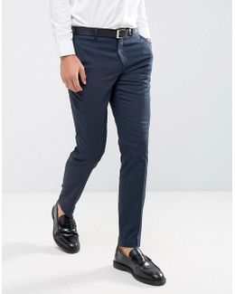 Skinny Smart Pant With Stretch