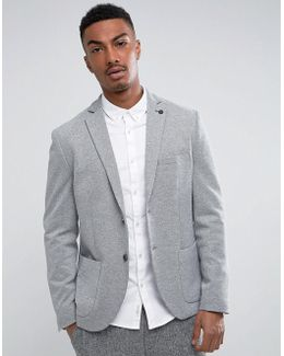 Slim Blazer In Texture