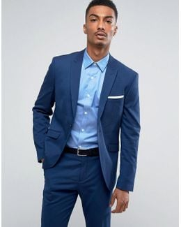 Slim Suit Jacket With Stretch