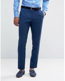 Slim Suit Pant With Stretch