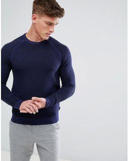 Crew Neck Texture Knit