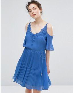 Daydreamer Cold Shoulder Dress