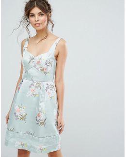 Spring Jacquard Dress