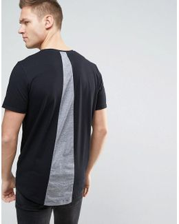 Originals Longline T-shirt With Back Panel Detail