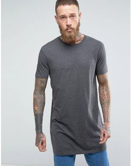 Super Longline T-shirt With Relaxed Fit