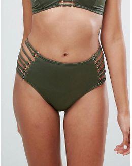 Co Ord Lattice Side Bikini Bottom