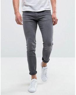 Man Skinny Jeans In Grey