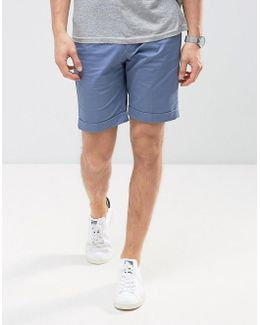 Man Chino Shorts In Blue