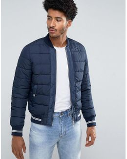 Man Puffer Jacket In Navy