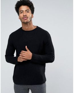 Man Sweater In Black