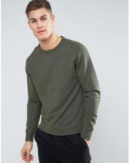 Man Sweatshirt In Khaki