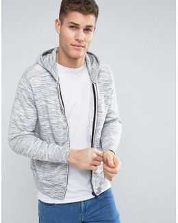 Man Hoodie With Front Pocket In Grey