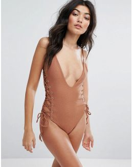 Roped Up Swimsuit