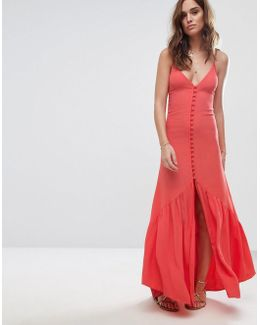 Button Up Midi Dress