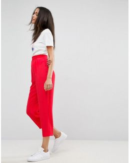 Tapered Peg Trousers