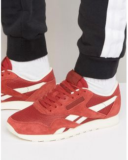 Classic Trainers In Red Bs7995