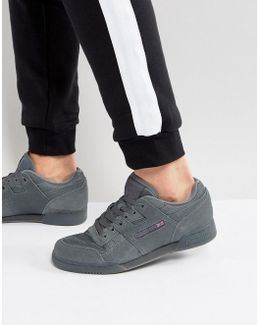 Workout Trainers In Grey Bs8439
