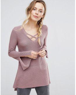 Criss Cross Sweatshirt