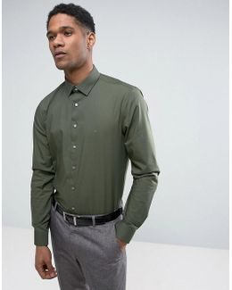 Skinny Smart Shirt With Stretch