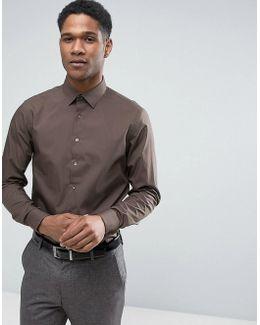 Skinny Smart Shirt With Stretch