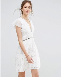 Hesse Broderie Dress