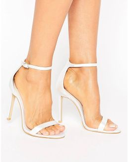 Bridal Barely There Heeled Sandal