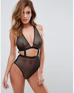 Gia Fishnet Body
