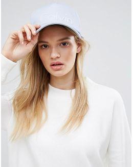 Cotton Cap In Blue