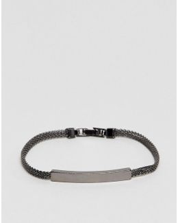 Smart Bracelet In Gunmetal