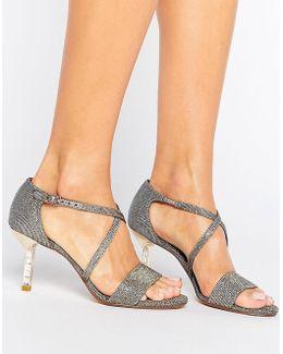 Melanie Jewel Heel Sandal