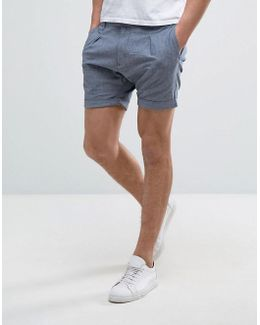 Shorts With Pleated Waist
