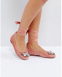Velvet Ballet Shoes