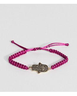 Hamsa Hand Cord Friendship Bracelet