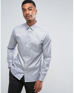 Slim Easy Iron Smart Shirt