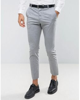 Slim Suit Trouser With Stretch