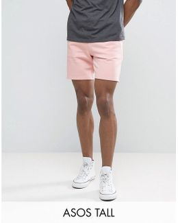 Tall Jersey Short In Pink