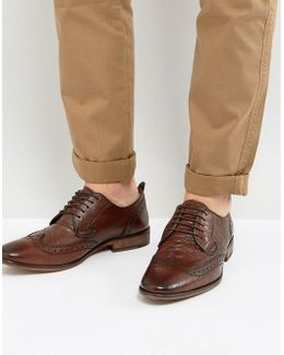 Analog Brogue Lace Up Shoes
