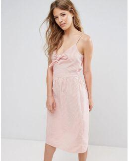 Tie Front Sun Dress