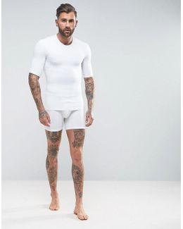 Shapewear Shorts In White