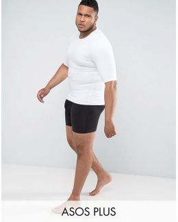 Plus Shapewear Shorts In Black